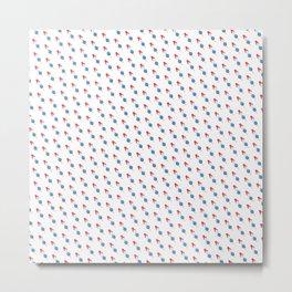 Popsicle Pattern - Slanted Rocket Pop #102 Metal Print