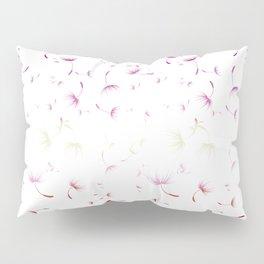 Dandelion Seeds Lesbian Pride (white background) Pillow Sham