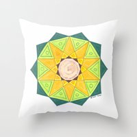 turtle Throw Pillows featuring Turtle by Tehaya
