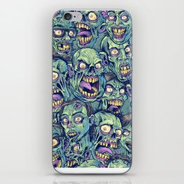 Zombie Repeatable Pattern iPhone Skin