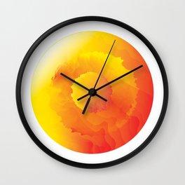Fiery Eye Wall Clock
