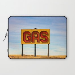 Gas Sign Laptop Sleeve