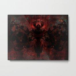 The moth Metal Print