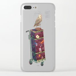 Luggage Clear iPhone Case
