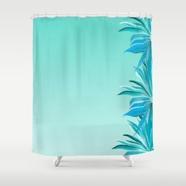 Topical Breeze Shower Curtain