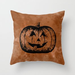 Lantern of the Damned Throw Pillow