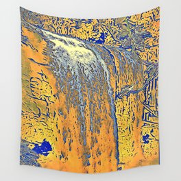 "series waterfall ""Cachoeira Grande"" II Wall Tapestry"