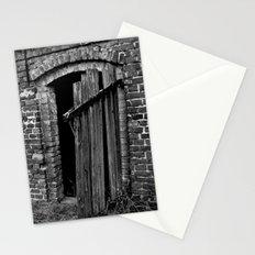Old abandoned barn Stationery Cards