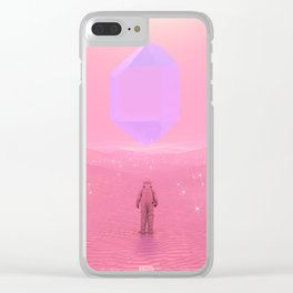 Lost Astronaut Series #03 - Floating Crystal Clear iPhone Case