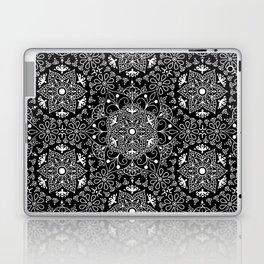Mandala_Black and White Laptop & iPad Skin
