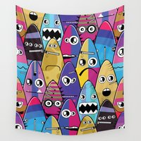 monster Wall Tapestries featuring Monster by Incredible_Movemenjjts Monsters