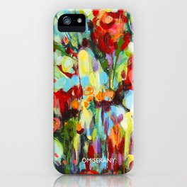 Jardin anglais  version 2-2015 de ÖMISERANY iPhone Case