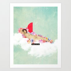 Dream of me Art Print
