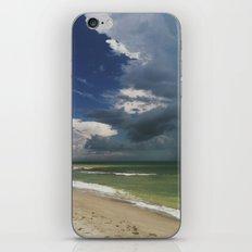 A Stormy Beach iPhone & iPod Skin