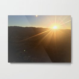 Calistoga Sunrise Metal Print