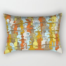 Illusionist Congress Rectangular Pillow