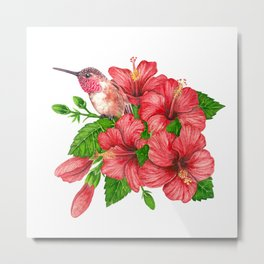 Tropical bouquet Metal Print