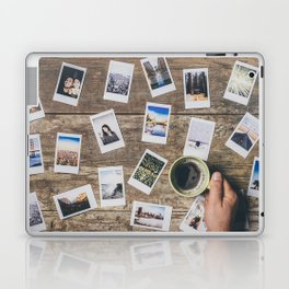 Photo prints on the table Laptop & iPad Skin