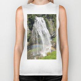 Waterfall Rainbow Biker Tank