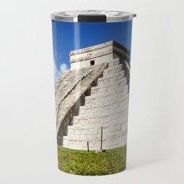 Chichen Itza Yucatan Mexico Travel Mug
