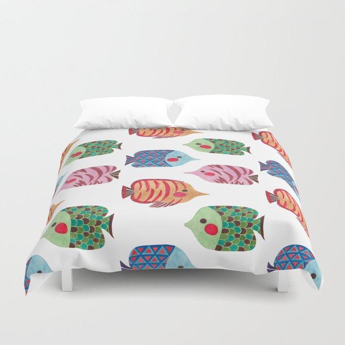 Butterflyfish Duvet Cover
