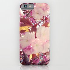 Blurry Blossoms Slim Case iPhone 6s