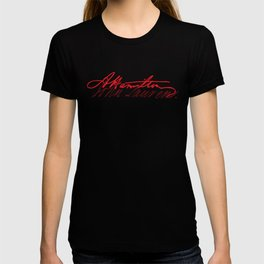 Alexander Hamilton and John Laurens signature T-shirt