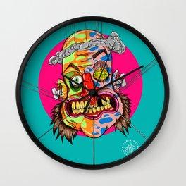 AscoltoPensaRidi Wall Clock