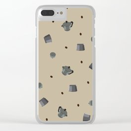 moka Clear iPhone Case