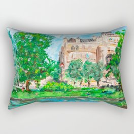 Education and Freedom, Riga, Latvia Rectangular Pillow