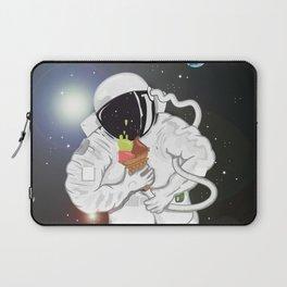 Astronaut with ice cream cone Laptop Sleeve