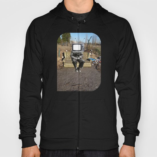 TV Zombie - sit down and watch! Hoody