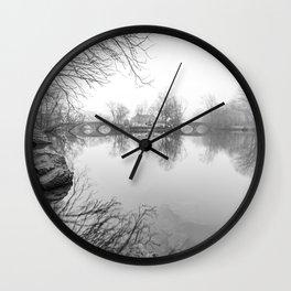Double Bridges - Clove Lakes Wall Clock