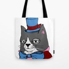 Dignified Cat Tote Bag