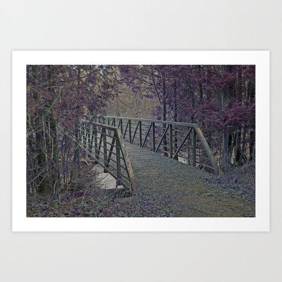 Just a Bridge Art Print