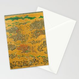 Siege of Osaka Castle Stationery Cards