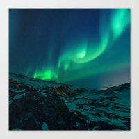 aurora Canvas Prints featuring Aurora by StayWild