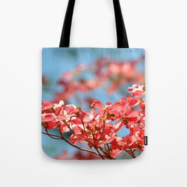 PINK DOGWOOD Tote Bag
