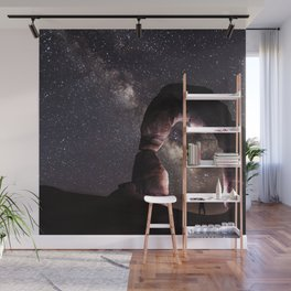 Watching stars Wall Mural