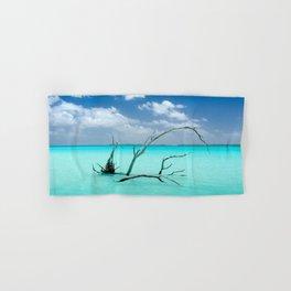 Driftwood in Lagoon Hand & Bath Towel