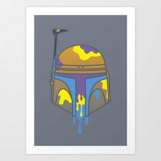 Galactic Decapitations #2 - Bounty Hunter Art Print
