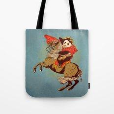 The Panda's Ride  Tote Bag