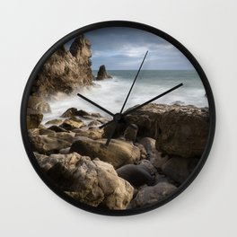 Little Corona Del Mar Beach Wall Clock