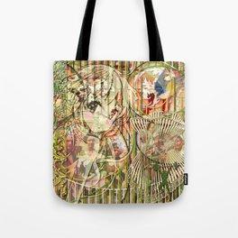 Jeune fille de joie usine (Factory girl joy) (2) Tote Bag