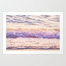 Atlantic Ocean Waves 4185 Art Print