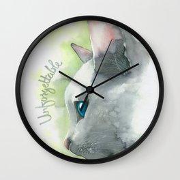 Unforgettable Wall Clock