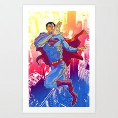 Hometown Hero Art Print