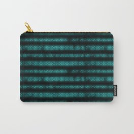 Blue Dna Data Code Carry-All Pouch