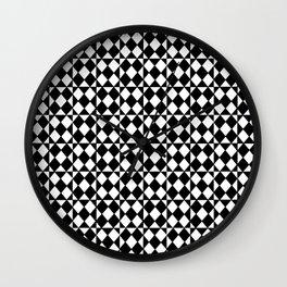 optical pattern 17 Wall Clock