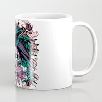 anarchy Mugs featuring Anarchy ravens by Tshirt-Factory